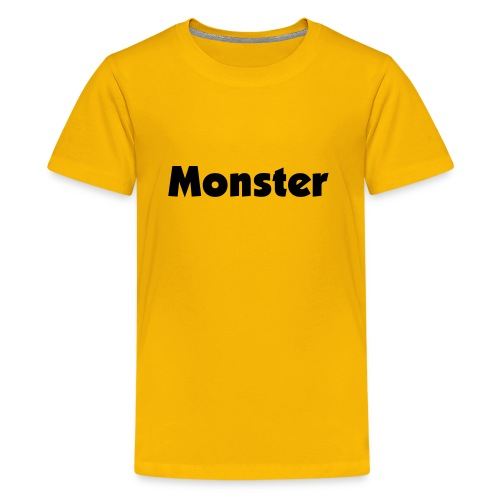 Monster - Teenager Premium T-Shirt