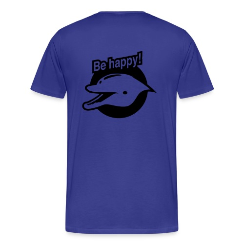 Be Happy - T-shirt Premium Homme