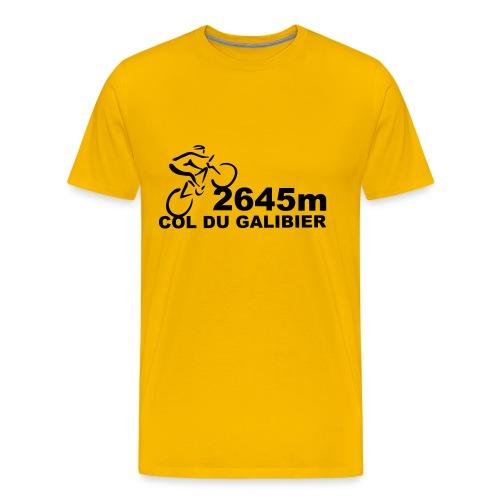 Col du Galibier - T-shirt Premium Homme