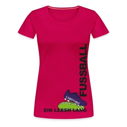 S33 wmn Fussball EinLebenLang - Frauen Premium T-Shirt