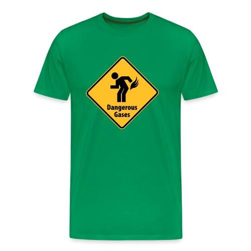 T-Shirt Dangerous gases - Männer Premium T-Shirt