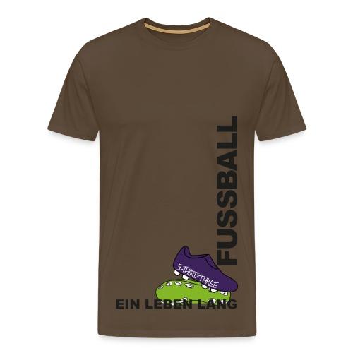 S33 Men Fussball EinLebenLang - Männer Premium T-Shirt