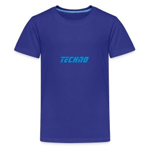 Techno Text Kids T - Teenage Premium T-Shirt