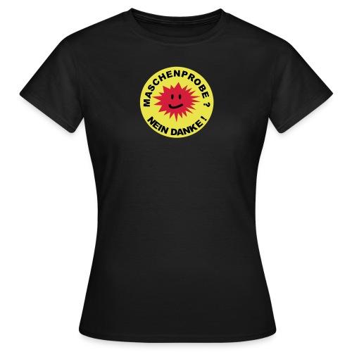 Maschenprobe Shirt - Frauen T-Shirt
