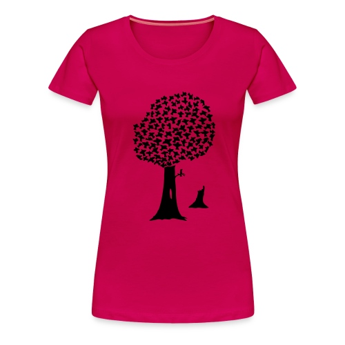 Tree Birds! - Women's Premium T-Shirt