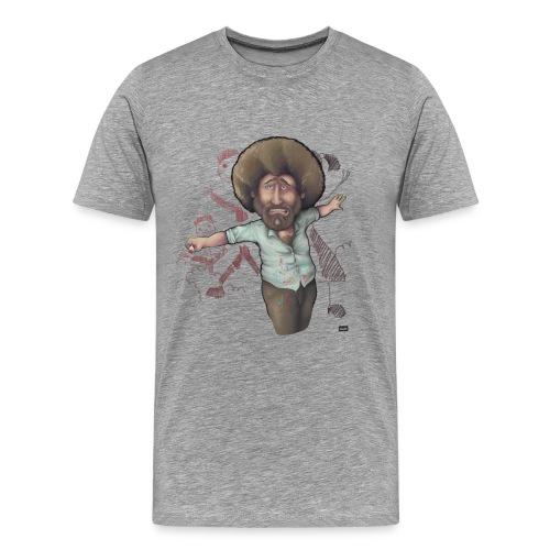 Bob Ross Can't Paint People - Men's Premium T-Shirt