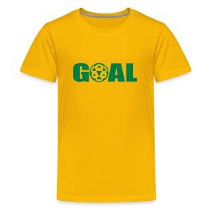 Fotballtrøye Barn - Premium T-skjorte for tenåringer