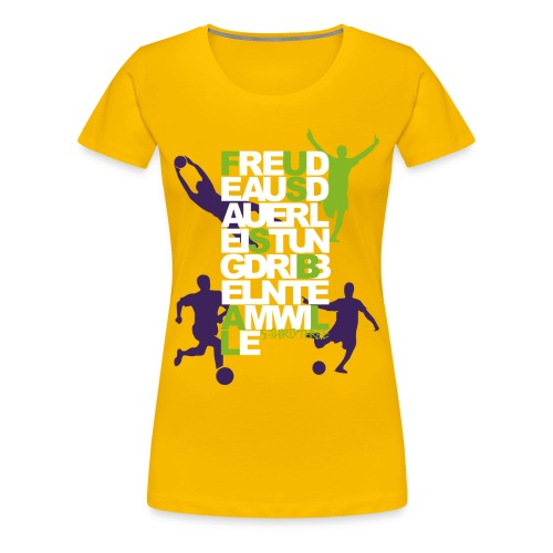 S33 Women Football 2 - Frauen Premium T-Shirt
