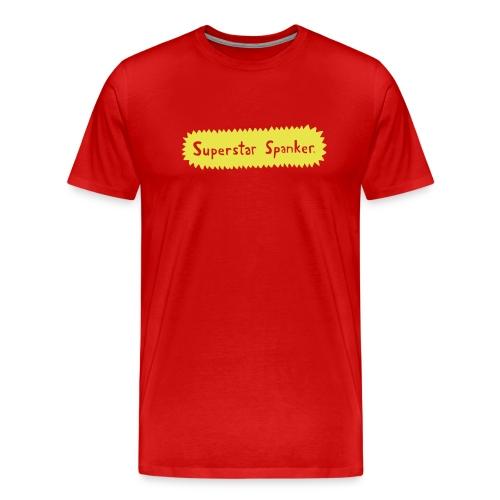 Superstar Spanker. - Men's Premium T-Shirt