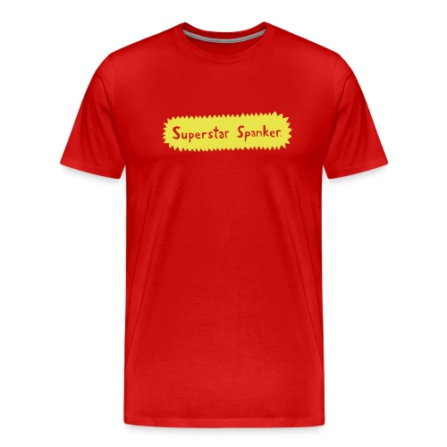 Superstar Spanker. - Men's Premium T-Shirt