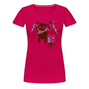 HUiSBERDEN POWER - Frauen Premium T-Shirt