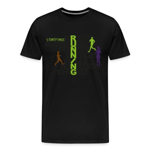 S33 Men Running - Männer Premium T-Shirt