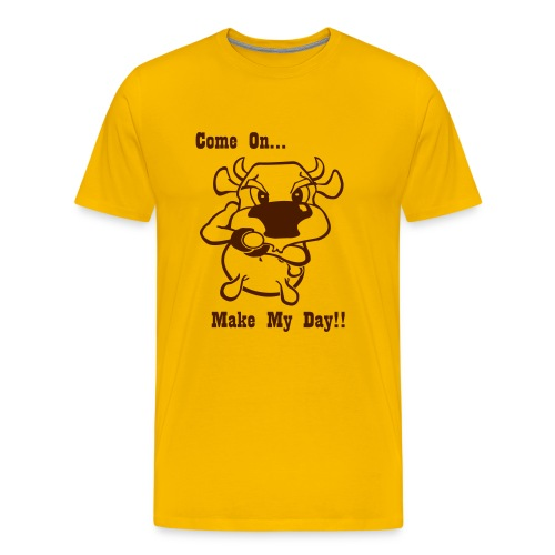 Make My Day! - Mannen Premium T-shirt