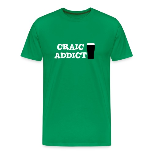 Craic Addict T-Shirt - Men's Premium T-Shirt