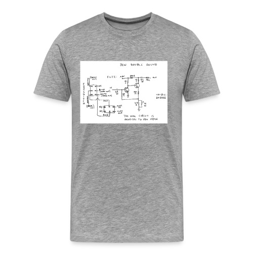 fuzz - Men's Premium T-Shirt
