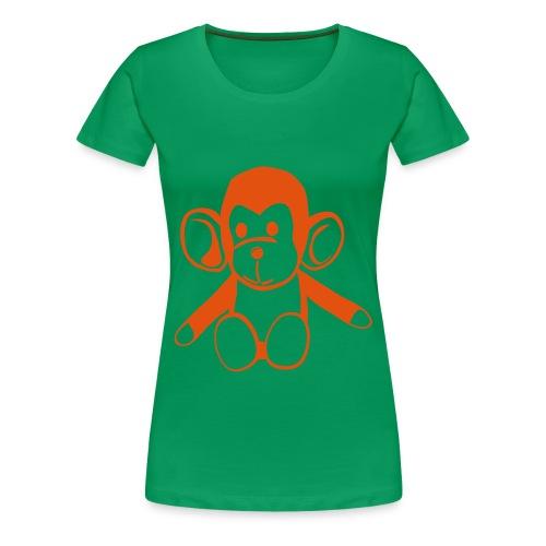 Monkey - Women's Premium T-Shirt