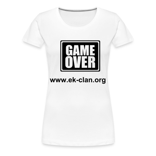 eliteKiller-Game over - Frauen Premium T-Shirt