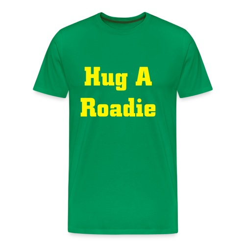 Hug A Roadie T-Shirt - Men's Premium T-Shirt