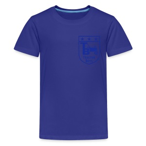 Tractor Boys (Sky Blue) - Teenage Premium T-Shirt