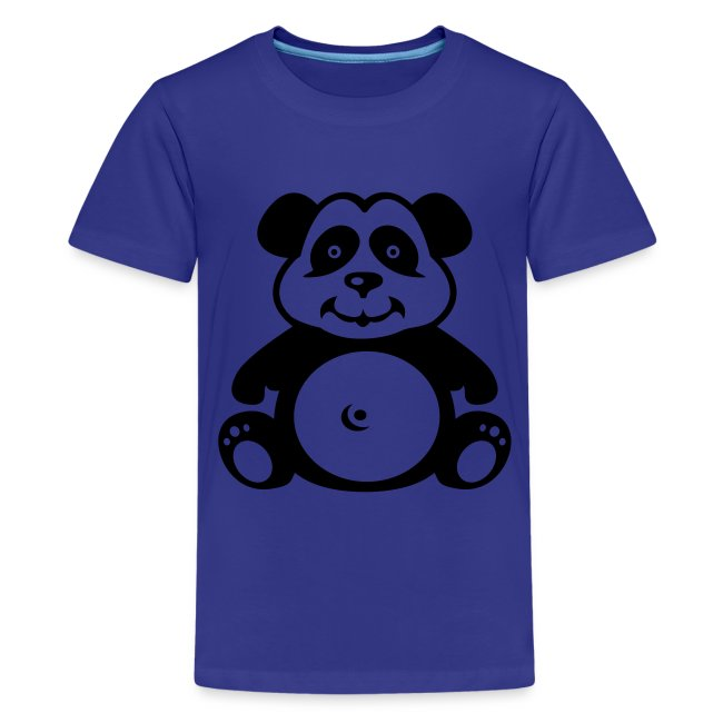 Cute For Kids - Panda (Blue)