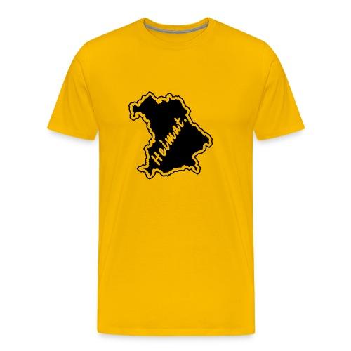 T-Shirt Heimat Land Bayern - Männer Premium T-Shirt