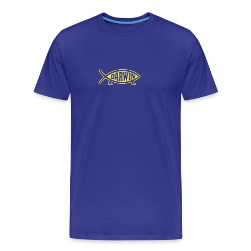 Darwin - Premium T-skjorte for menn