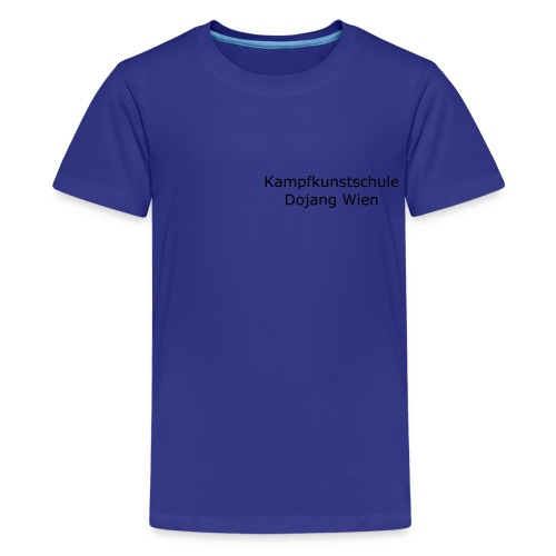 Kinder Shirt - Dojang Wien - Teenager Premium T-Shirt