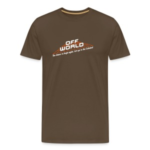 Off-World - Men's Premium T-Shirt