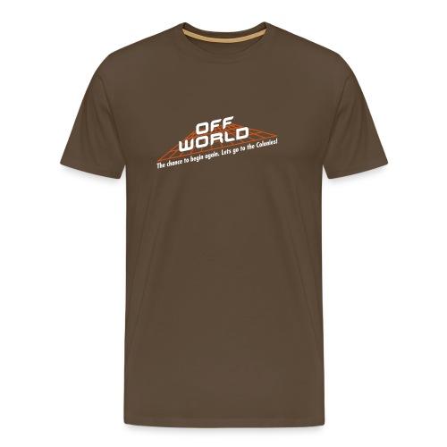 Off-World - Men's Premium T-Shirt