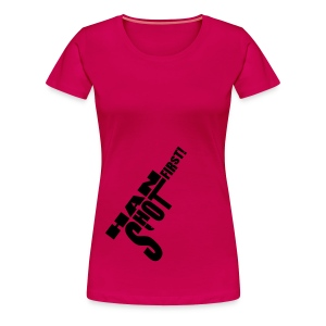 Han shot first! - Women's Premium T-Shirt
