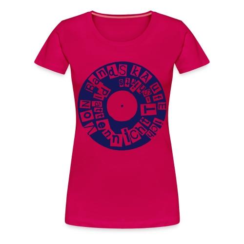 platten - Frauen Premium T-Shirt