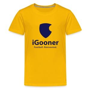 Teenage Premium T-Shirt - arsenal,gooner,gunners