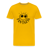 T-Shirts ~ Men's Premium T-Shirt ~ Fantazia Logo front Customisable rear