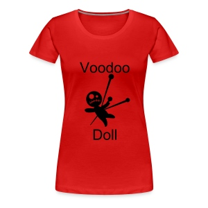 Voodoo Doll - Women's Premium T-Shirt