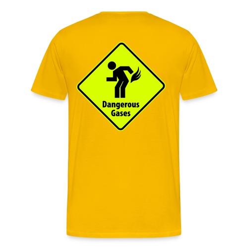 Dangerous Gases - T-shirt Premium Homme