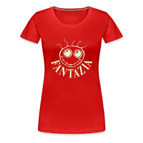 Fantazia Glow in the Dark Ladies T - Women's Premium T-Shirt