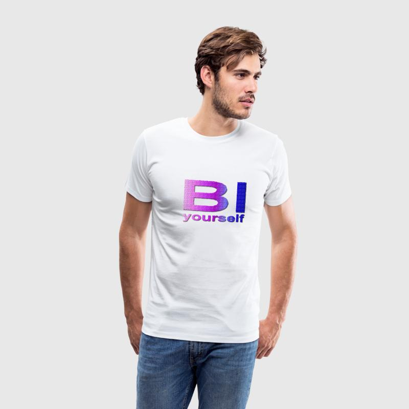 Bi yourself - Männer Premium T-Shirt