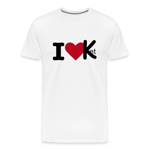 I Love Ket - Men's Premium T-Shirt