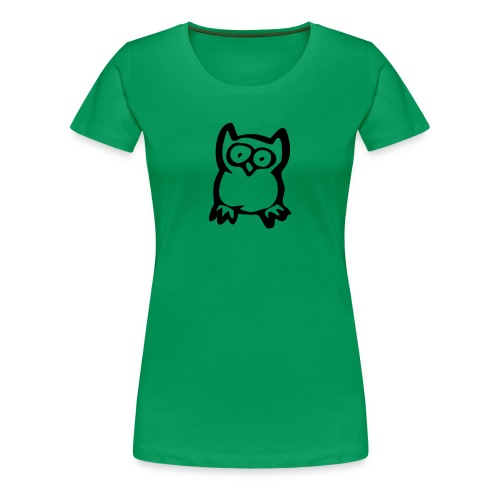 Casual Green Ladies T-shirt - Women's Premium T-Shirt
