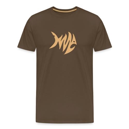 Zickzack Fisch T-Shirt - Männer Premium T-Shirt