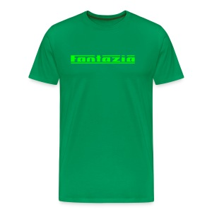 Fantazia Logo front Customisable rear - Men's Premium T-Shirt