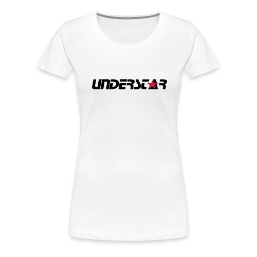 UNDERSTAR White T-shirt - Women's Premium T-Shirt