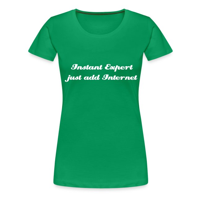Instant Expert just add internet