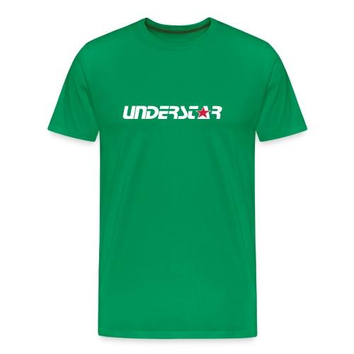 UNDERSTAR Green T-shirt - Men's Premium T-Shirt