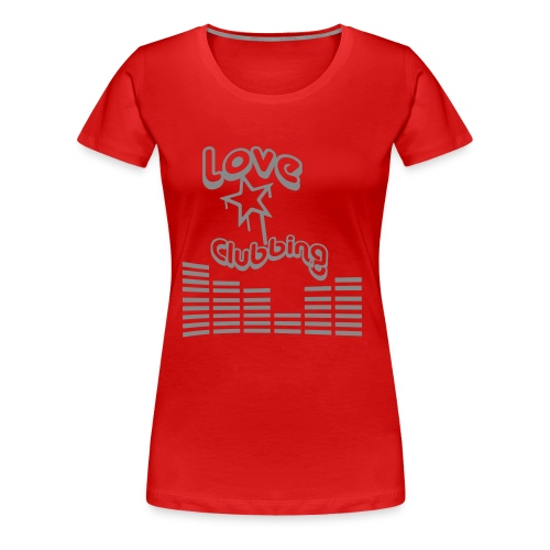 LE CLUB RED - T-shirt Premium Femme