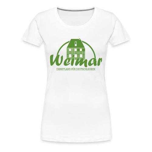 Disneyland für Deutschlehrer GRUEN - Frauen Premium T-Shirt