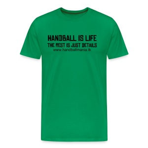 handball is life - more colours - Men's Premium T-Shirt