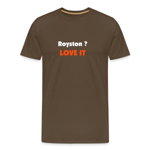 Royston Town Love it - Men's Premium T-Shirt