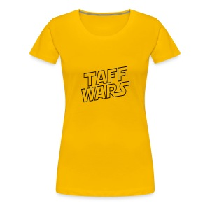 Taff Wars YELLOW Continental Classic Women's - Women's Premium T-Shirt