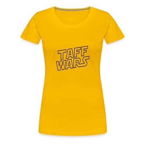 Taff Wars YELLOW Continental Classic Women's - Women's Premium T-Shirt